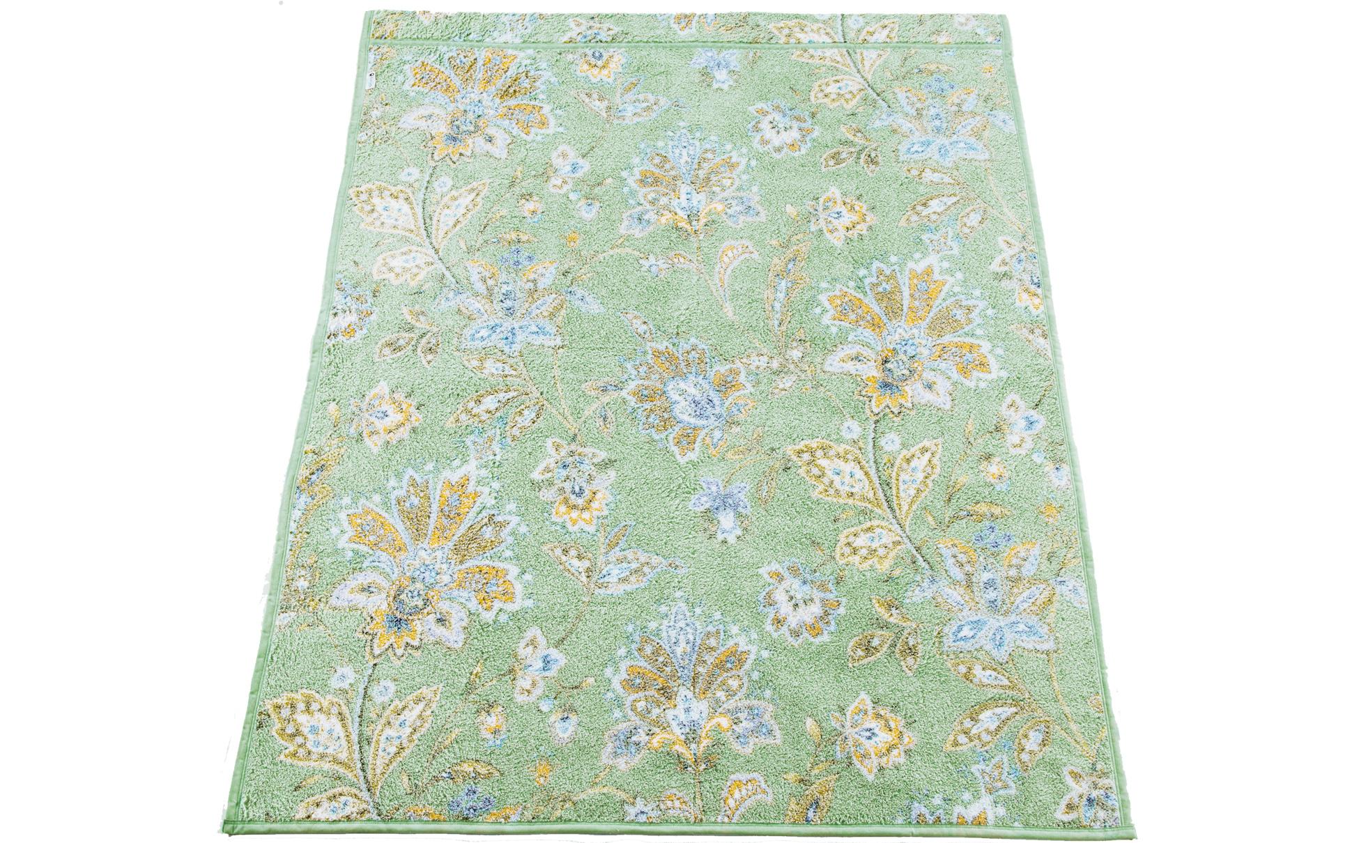日本製 綿マイヤータオルケット カラー:グリーン
