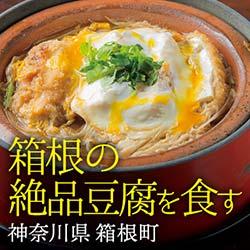 箱根の絶品豆腐を食す  箱根町