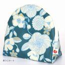 化粧ポーチ「sussu」50.P-flowerwhite