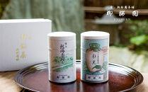 〈柳桜園茶舗〉煎茶・かぶせ茶詰め合わせ