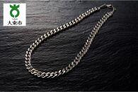 P26・7-2 純チタン極太カット喜平磁気ネックレス