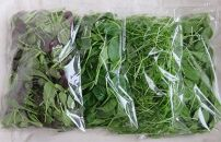 【宮城県栗原産】有機ベビーリーフ入り、とれたて葉物野菜セット(5種類)