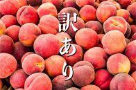 【先行受付/2022年発送】山梨県産完熟桃訳あり品2kg(4~8玉)