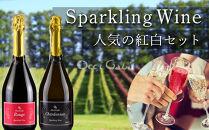 人気の紅白スパークリング・ワイン・セット