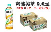 爽健美茶600ml(24本×2ケース 計48本)