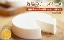 【母の日ギフト】牧場のチーズケーキ