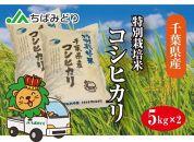 千葉県産コシヒカリ特別栽培米  5kg×2