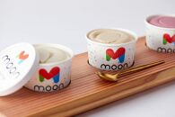 滋賀県長浜市産こだわり大豆の濃厚豆乳アイスクリーム ムーン豆乳アイス詰合せ 24個セット