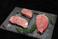 熊野牛ステーキ懐石3種盛り