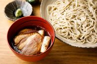 【そば料理よしむら】鴨汁そば?漬け2食・ざるそば2食(瞬そば)