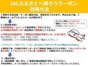 大崎町JALふるさとクーポン147000&ふるさと納税宿泊クーポン3000
