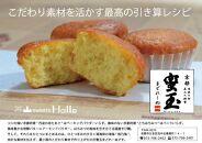 【茶山sweetsHalle】《京都産の素材そのまま》蜜玉まどれーぬ
