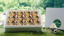 南魚沼市ふるさと納税【魚沼産ミルクのアイスクリーム】フレミンジェラート(ミルク味カップ12個)