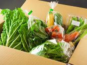 季節のお野菜セットと阿部牧場のASOMILK800ml×2本