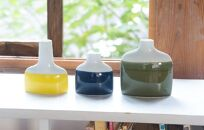 【AB323-NT】【波佐見焼】esfamilyvase3色3個組【西海陶器】157076