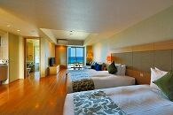 ムーンオーシャン宜野湾ホテル&レジデンス デラックスツインにご宿泊(1泊朝食付)【A期間限定】