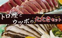 トロ鰹とウツボのたたきセット