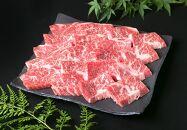 (まるごと糸島)A4ランク糸島黒毛和牛カルビ焼肉用500g