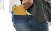 プチウォレット【ココア(こげ茶)】お札・小銭・カードが収納できる小さなお財布!
