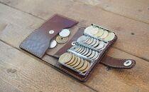 レール式コインケース【グリーン】各コインをキッチリ収納できる小さなお財布!