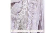 【9号】フリル衿リバーレースプリーツジャケット【ピンク】