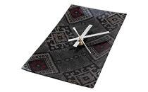 クリスタル大島紬掛時計