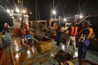 大型定置網漁師体験(漁乗船体験・漁師めし体験コース)