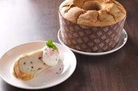 グルテンフリー米粉シフォンイチゴ
