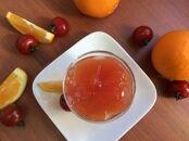 トマトとオレンジのベジタブルフルーツジュレ