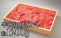 茨城県産銘柄黒毛和牛常陸牛もも・肩等の切り落とし1.2kg