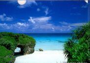 宮古島クリアファイルA4(5枚セット・砂山ビーチ)