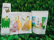 静香園の「極上深蒸し茶」・「特上深蒸し茶」「棒ほうじ茶」各100g袋入・お茶屋さんがつくった入浴茶