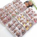 宮島銘菓 博多屋のもみじまんじゅう食べ比べセット(8個入×6箱)