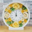 プリザーブドフラワー お花たっぷり花時計