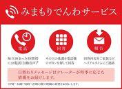 みまもりでんわサービス【携帯電話】(3か月)