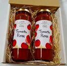 当社農園で厳選した完熟トマト100%のトマトピューレ(2本セット)