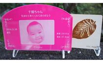 鎌倉市公園協会「プレミアム誕生花プレートと木製コースター(5枚)」