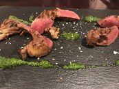 北見エゾシカハツ肉薄切り ステーキ肉セット
