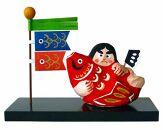 世界遺産五箇山 紙塑人形 金太郎人形(赤)