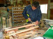 南砺市福光のバット職人が作る オーダーメイド硬式用木製バット!