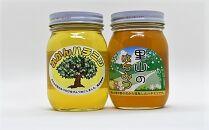 ありだみかん蜂蜜・ありだ里山の蜂蜜(各570g)