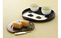 【ギフト用】丹波純栗羊かんと丹波煎茶セット