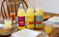 江刺りんごジュース三姉妹(1000ml瓶×6本) 江刺産サンつがる、ジョナゴールド、サンふじ使用 ストレート果汁100%