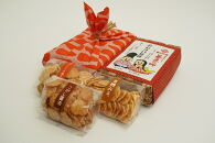 おむすび煎餅小風呂敷包み(煎餅3種×50g)