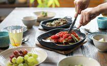 南部鉄器 焼き焼きグリルどっしり深形 伝統工芸品 鉄フライパン