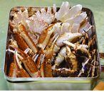 <北海道産>美味蒸しタラバガニセット【約800g】缶入り(網走加工)