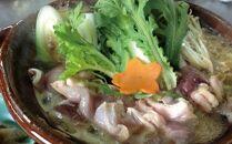 信楽澤善の鶏すき地鶏近江しゃも1羽分(特製鶏ガラだれ付)