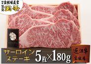 ◆宝牧場近江牛プレミアムサーロインステーキ