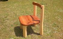 ほっこり子供椅子(赤っぽい色)