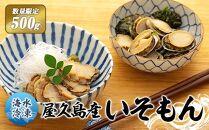 【数量限定】屋久島産「いそもん」 500g【海水で冷凍】